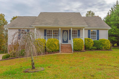 Ringgold Single Family Home Contingent: 372 Spring Wind Cir
