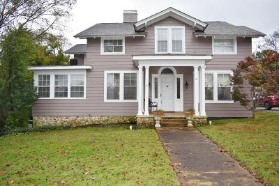 Chattanooga Single Family Home For Sale: 8 Ridgeside Rd