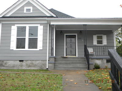 Chattanooga Single Family Home For Sale: 2109 E 14th St