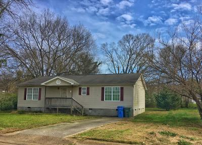 Chattanooga Single Family Home For Sale: 578 N Kelley St