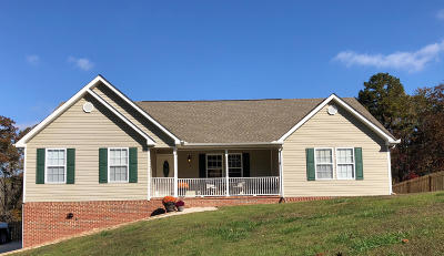 Soddy Daisy Single Family Home Contingent: 9086 Robert Garland View