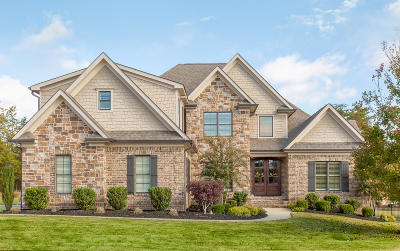 Ooltewah Single Family Home Contingent: 8053 Hampton Cove Dr