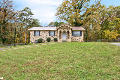 Ooltewah Single Family Home Contingent: 4121 Shady Oak Dr #88