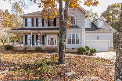 Ooltewah Single Family Home Contingent: 8806 Grey Wolf Dr