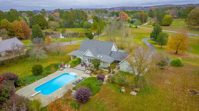 Ringgold Single Family Home For Sale: 1182 Old Three Notch Rd