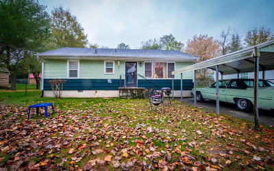 Chattanooga TN Single Family Home For Sale: $58,500