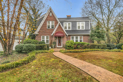 Chattanooga Single Family Home For Sale: 3312 Windsor Ct
