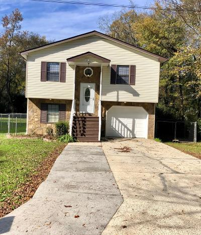 Chattanooga TN Single Family Home For Sale: $119,999