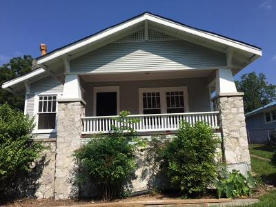 Chattanooga TN Single Family Home For Sale: $108,000