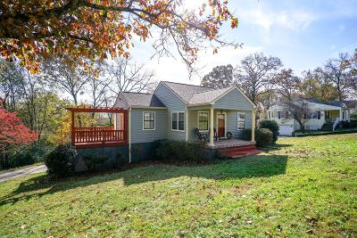 Chattanooga Single Family Home Contingent: 3970 Fairfax Dr