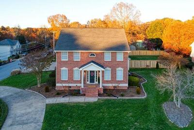 Chattanooga Single Family Home Contingent: 601 Pine Brow Tr