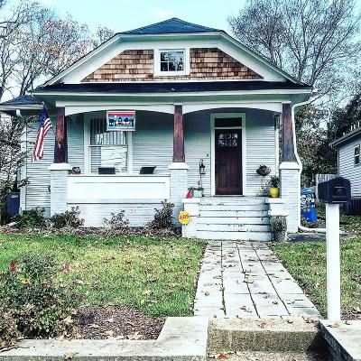 Chattanooga Single Family Home For Sale: 1613 E 14th St