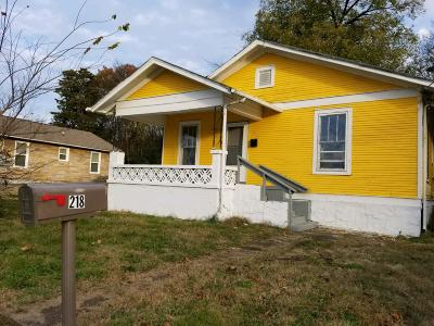 Chattanooga Single Family Home For Sale: 218 N Hickory St