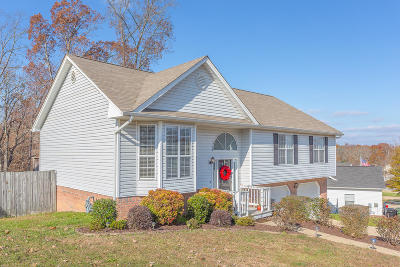 Ooltewah Single Family Home Contingent: 6601 White Tail Dr