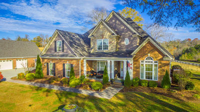 Ringgold Single Family Home Contingent: 6642 Salem Valley Rd