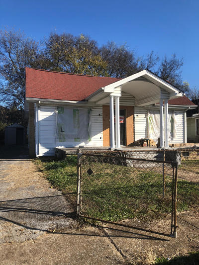 Chattanooga Single Family Home For Sale: 2303 Duncan Ave
