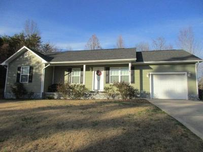 Dayton Single Family Home Contingent: 334 Maley Hollow Rd