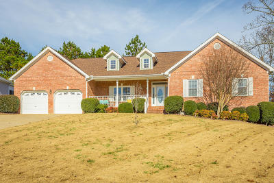 Ooltewah Single Family Home Contingent: 8845 Windhaven Rd