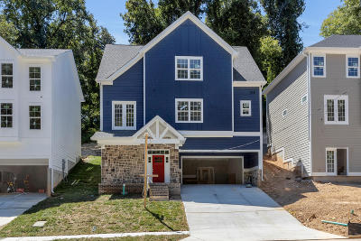 Chattanooga Single Family Home Contingent: 1020 Dartmouth St #Lot 9