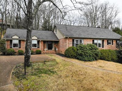 Lookout Mountain Single Family Home Contingent: 44 W Bartram Rd