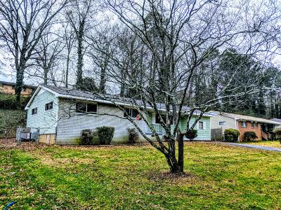 Chattanooga TN Single Family Home For Sale: $97,000