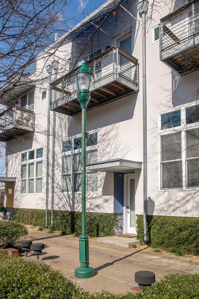 Chattanooga Townhouse For Sale: 135 W 17th St