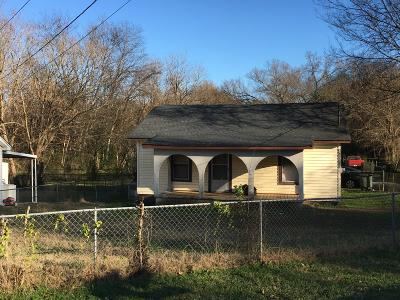 Chattanooga TN Single Family Home For Sale: $55,000