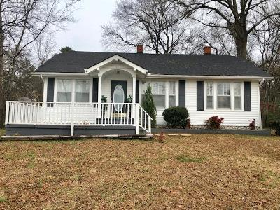 Ringgold Single Family Home For Sale: 175 Dietz Rd