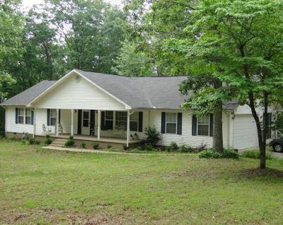 Rising Fawn Single Family Home For Sale: 170 Fox Trail Rd
