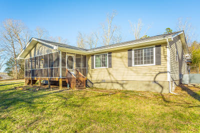 Soddy Daisy Single Family Home Contingent: 13514 Mt Tabor Rd