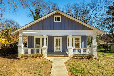 Chattanooga Single Family Home For Sale: 618 Snow St