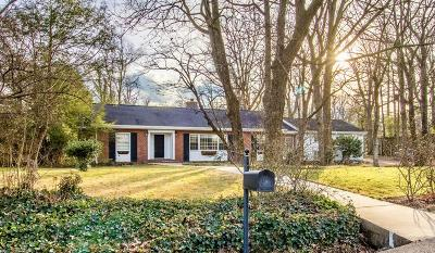Lookout Mountain Single Family Home For Sale: 109 Stephenson Ave