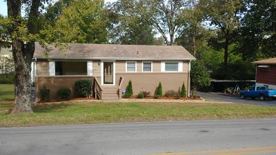 Chattanooga Single Family Home For Sale: 1407 John Ross Rd
