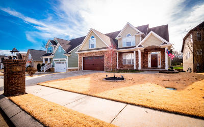Ooltewah Single Family Home Contingent: 8130 Savannah Bay Dr