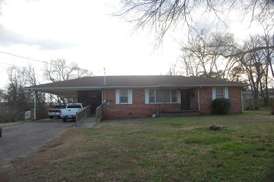 Rossville Single Family Home For Sale: 972 Cloud Springs Rd