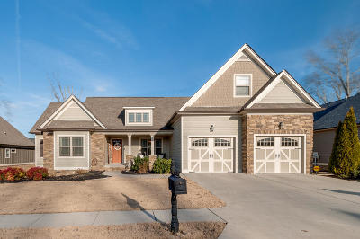 Ooltewah Single Family Home Contingent: 8445 Denison Ln