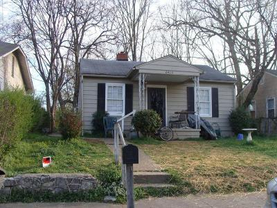Chattanooga Single Family Home For Sale: 2413 Kirby Ave