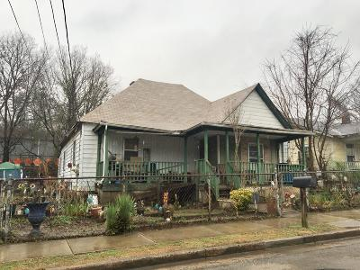 Chattanooga Single Family Home For Sale: 627 Spears Ave