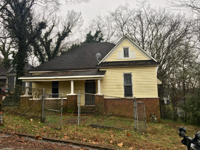 Chattanooga Single Family Home For Sale: 1601 Old Ringgold Rd