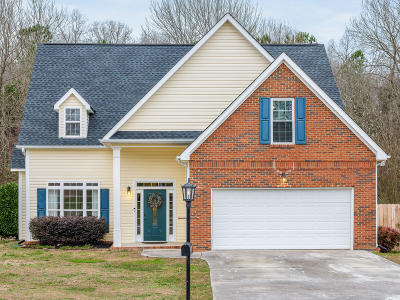 Ooltewah Single Family Home Contingent: 7939 Squirrel Wood Ct
