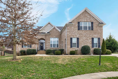 Ooltewah Single Family Home Contingent: 7510 Wild Iris Way