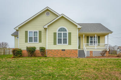 Ringgold Single Family Home Contingent: 428 Misty Ridge Ln
