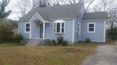 Chattanooga Single Family Home For Sale: 3005 Peggy Ln