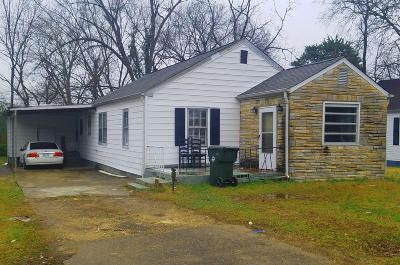 Chattanooga Single Family Home For Sale: 5007 Carolyn Ln