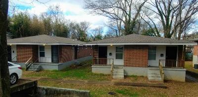 Chattanooga Multi Family Home For Sale: 163 Glenwood Dr