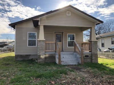 Chattanooga Single Family Home For Sale: 1808 E 26th St