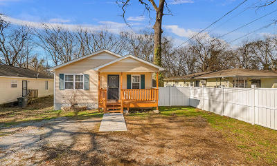 Chattanooga Single Family Home For Sale: 1609 Roanoke Ave
