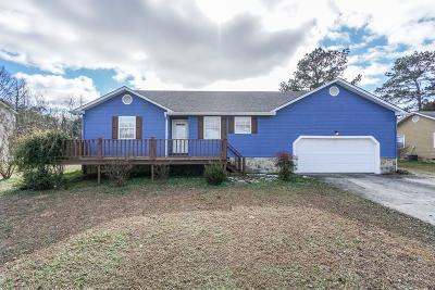 Ringgold Single Family Home Contingent: 523 Smoketree Cir