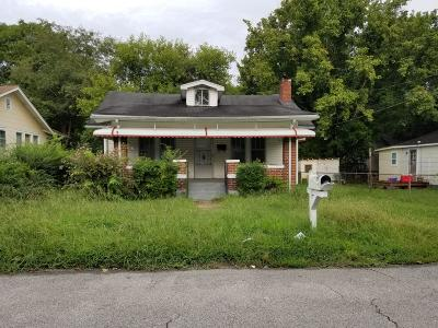 Chattanooga Single Family Home For Sale: 2504 Orear St