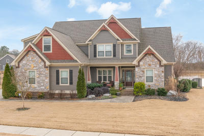 Ooltewah Single Family Home For Sale: 8780 Seven Lakes Dr